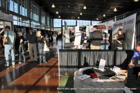 The Clarksville-Area Chamber of Commerce Home and Garden Show