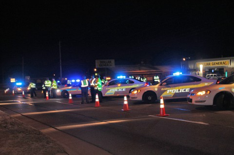 Sobriety Roadside Safety Checkpoints and Saturation Patrols set for May 20th and 21st