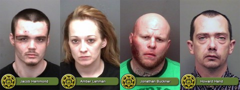 Jacob Roy Hammond, Amber Nicole Lehman, Jonathan Buckner and Howard Hand