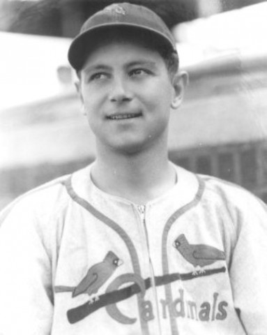 Johnny Beazley of the St Louis Cardinals