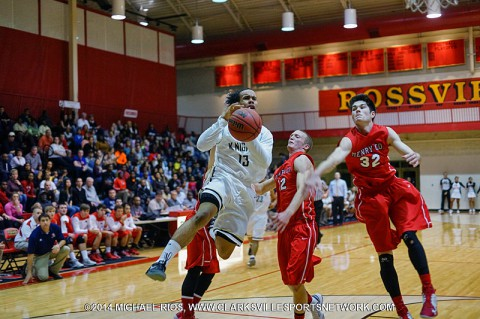 District 10-AAA Basketball Tournament from Rossview High School. (Michael Rios-Clarksville Sports Network)