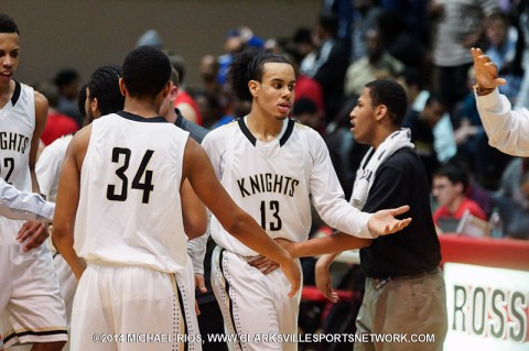 Kenwood Boy's Basketball defeats Gallatin in regional tournament. (Michael Rios-Clarksville Sports Network)