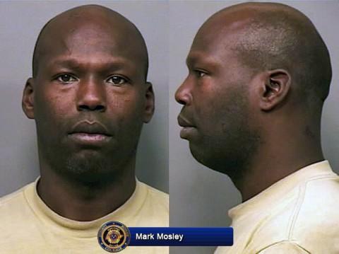 Mark Arthaniel Mosley arrested for Vandalism