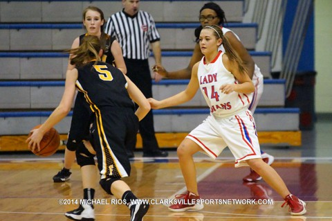 Montgomery Central girls basketball falls to Fairview 48-36. (Michael Rios Clarksville Sports Network)