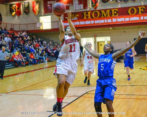 Rossview girl's basketball defeats Lebanon for Region win 56-39. (Michael Rios Clarksville Sports Network)
