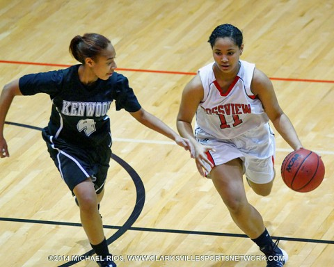 Rossview Girl's Basketball defeats Kenwood for District 10-AAA title. (Michael Rios-Clarksville Sports Network)