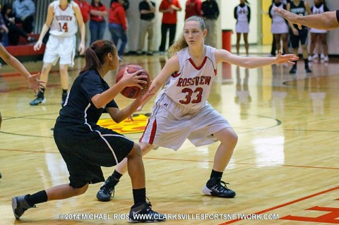 Rossview Girl's Basketball. (Michael Rios-Clarksville Sports Network)