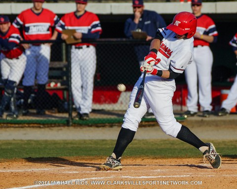 Austin Peay Baseball defeats Bradley 10-6 at Riverview Inn Classic. (Michael Rios-Clarksville Sports Network)
