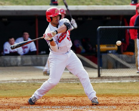 Austin Peay Baseball wins 7-4 over Tennessee Tech Friday night. (Michael Rios Clarksville Sports Network)