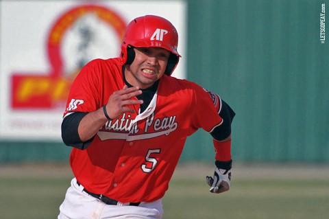Austin Peay Baseball. (Brittney Sparn/APSU Sports Information)