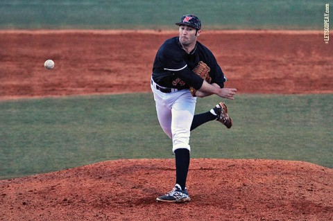 Austin Peay junior right-hander Caleb DeLee will take the hill, Tuesday, as the Govs begin a five-game roadtrip at nationally-ranked Tennessee Volunteers. (Brittney Sparn/APSU Sports Information)
