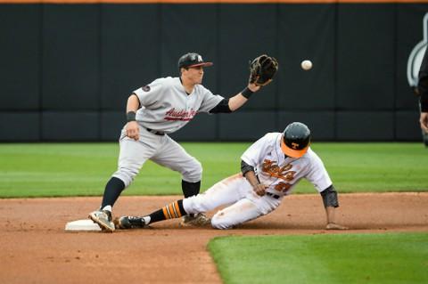 Austin Peay Men's Baseball Falls to Tennessee 8-7 in twelve innings. (UT Sports Information)