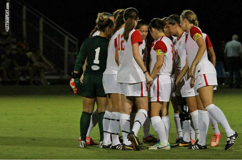 APSU Lady Govs Soccer. (Brittney Sparn/APSU Sports Information)