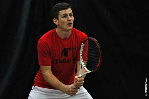 Austin Men's Tennis. (Brittney Sparn/APSU Sports Information)