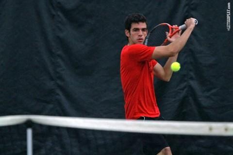 Austin Peay Governors Tennis. (Brittney Sparn/APSU Sports Information)
