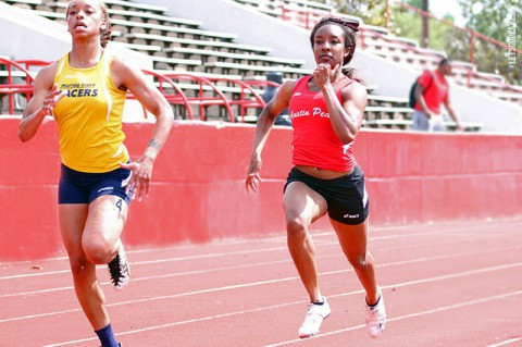 Austin Peay Lady Govs Track and Field. (Brittney Sparn/APSU Sports Information)