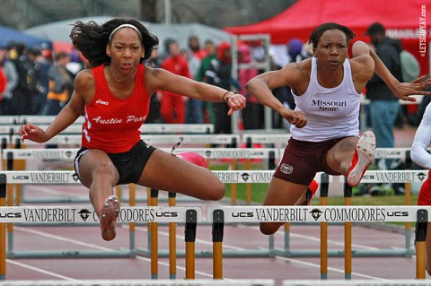 APSU Lady Govs Track and Field. (Brittney Sparn/APSU Sports Information)