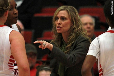 Austin Peay Lady Govs Basketball coach Carrie Daniels. (Brittney Sparn/APSU Sports Information)