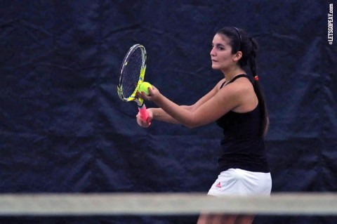 APSU Women's Tennis drops 6-1 match to Evansville. (Brittney Sparn/APSU Sports Information)
