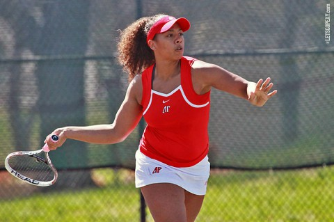 Austin Peay Women's Tennis. (Brittney Sparn/APSU Sports Information)