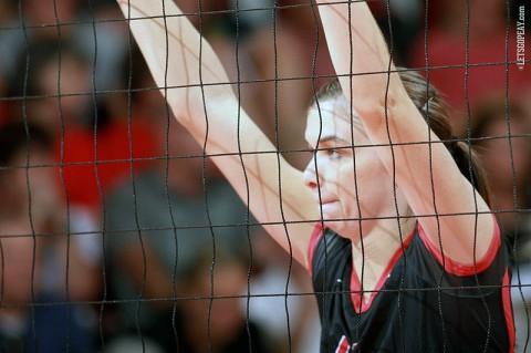 Austin Peay Volleyball's Lauren Henderson. (Brittney Sparn/APSU Sports Information)