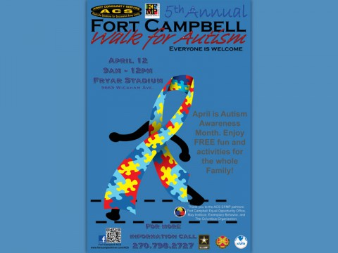 5th Annual Fort Campbell Walk for Autism
