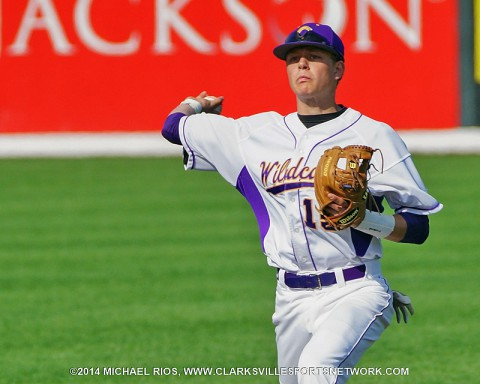 Clarksville High Baseball.  (Michael Rios-Clarksville Sports Network)
