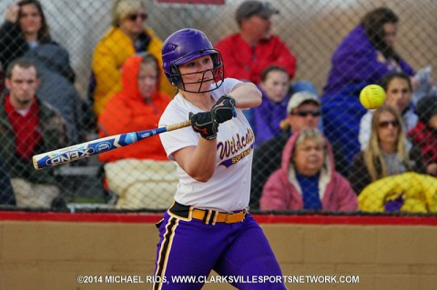 Clarksville High Lady Wildcats beat Rossview Lady Hawks Wednesday 18-0.