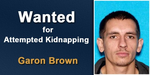 Garon Brown Wanted for Attempted Kidnapping