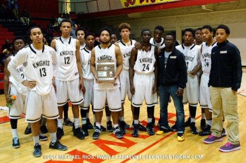 Kenwood men's basketball (Michael Rios Clarksville Sports Network)