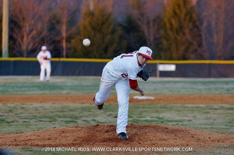 Montgomery Central Baseball loses to Rossview Hawks Monday.