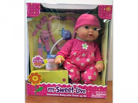 My Sweet Love Cuddle Care Doll recalled by Walmart due to Burn Hazard.