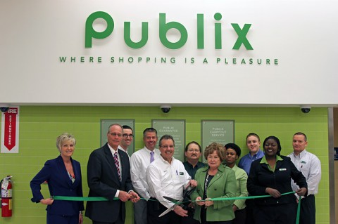 Publix Green Ribbon Cutting ceremony.
