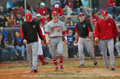 Rossview High Baseball hands Northeast High Eagles their first 10-AAA loss.
