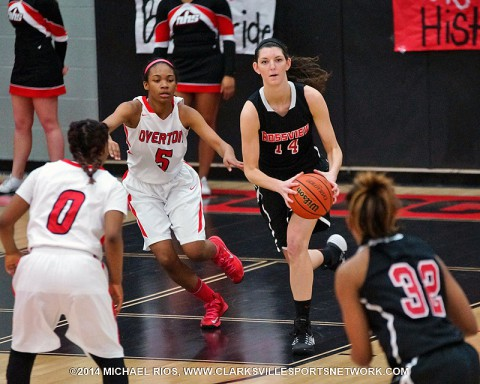 Rossview Girl's Basketball defeats Overton to advance in State Tournament. (Michael Rios-Clarkvsille Sports Network)