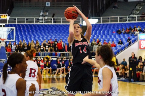 Rossview Girl's Basketball defeats Morristown West in over-time to advance in state tournament (Michael Rios-Clarksville Sports Network)