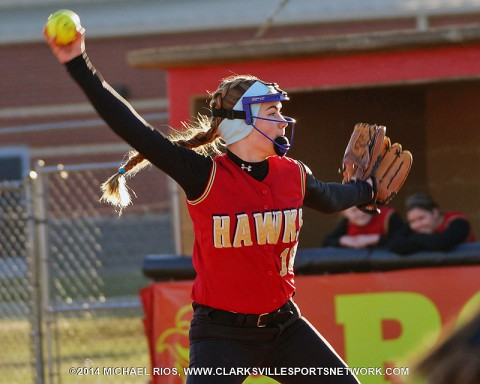 Rossview Girl's Softball falls to Stewart County 2-0. (Michael Rios Clarksville Sports Network)