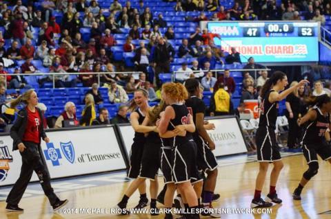Rossview Lady Hawks (Michael Rios Clarksville Sports Network)