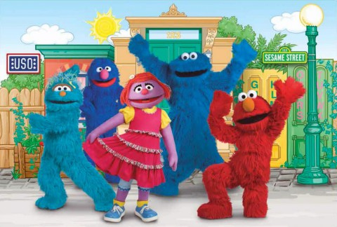 Sesame Street USO Experience for Military Families