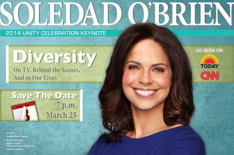 Soledad O'Brien to speak at APSU Unity event