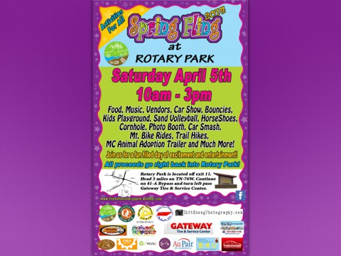 Friends of Rotary Park to host Spring Fling in April