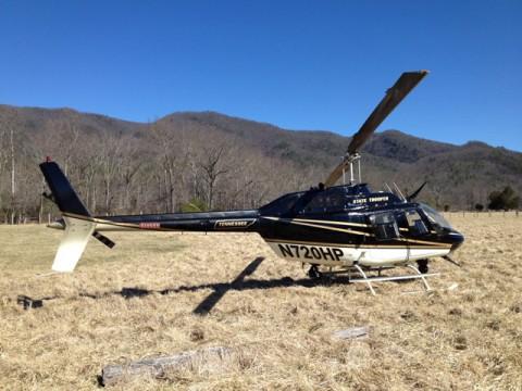 THP Bell Jet Ranger 206 helicopter