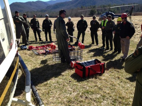 Tennessee Highway Patrol's Aviation Smoky Mountain Training