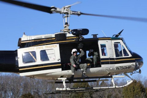 Tennessee Highway Patrol's Aviation in training.