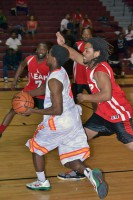 Charity Basketball Tournament hosted at West Creek High School.