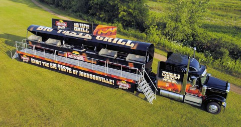 World's Largest Touring Grill to visit Nashville's LP Field during Goodguys 9th Nashville Nationals.