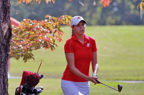 APSU Women's Golf struggles at UNF Intercollegiate. (Brittney Sparn/APSU Sports Information)