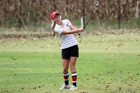 APSU sophomore Jessica Cathey shot an 80 on the final round in Jacksonville. Austin Peay Women's Golf. (APSU Sports Information)