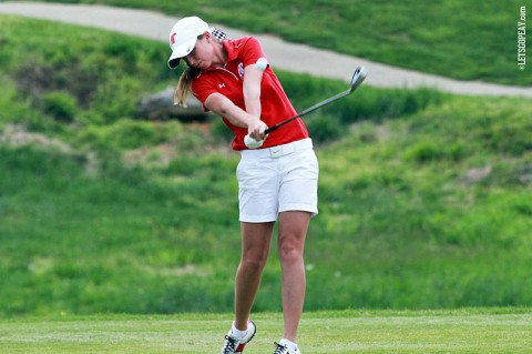 APSU Jessica Cathey leads Lady Govs with third place finish at Bobby Nichols Intercollegiate. (APSU Sports Information)