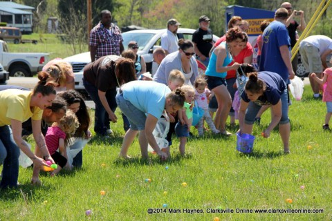 Kids and adults alike had a blast at the 19th Annual Hilltop Supermarket Easter Egg Hunt Saturday.